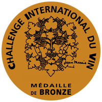 medaille bronze challenge international du vin prix