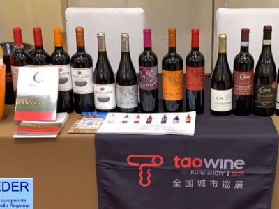 LOS VINOS DE GORDONZELLO SE EXHIBEN EN CHINA