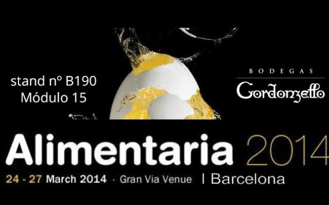 Estamos en ALIMENTARIA 2014 - Salón de la Alimentación y Bebidas de Barcelona