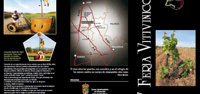 Este viernes dará comienzo la XV Feria Vitivinícola Gordoncillo (León)