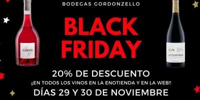LLEGA EL BLACK FRIDAY A BODEGAS GORDONZELLO